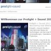 Willkommen zur Prolight + Sound 2012