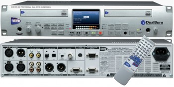 HHb DualBurn CDR882 CD-Recorder