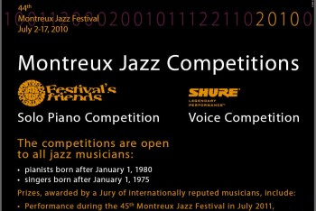 Montreux Jazz Competitions 2010