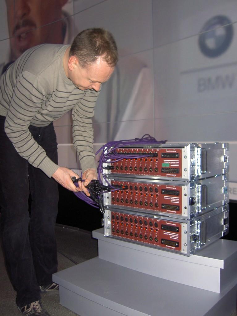 der ASS-993-4 im Einsatz beim Bayrischen Rundfunk