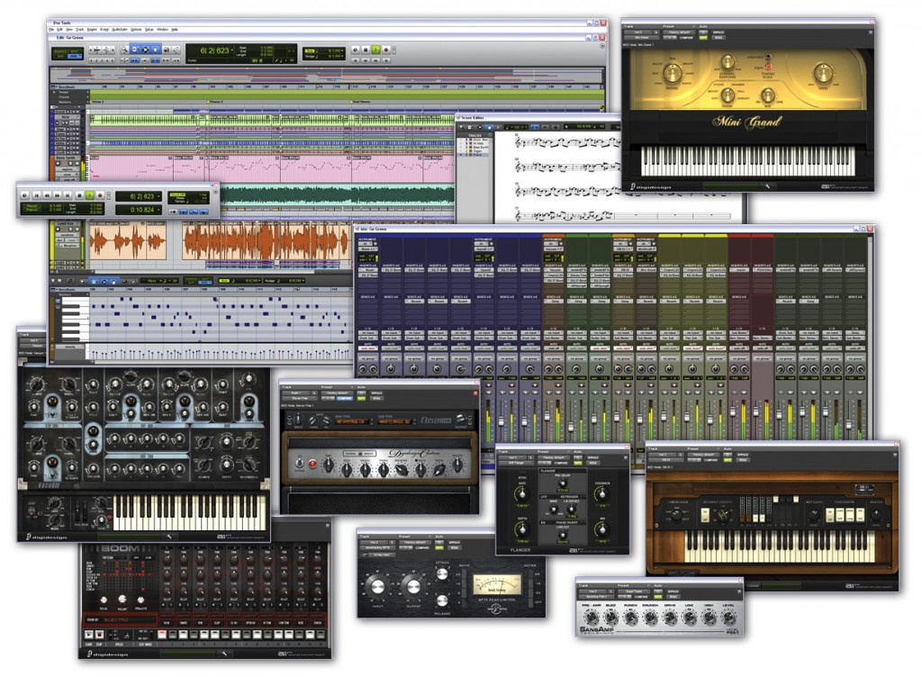 Avid Pro Tools 9 bietet unzählige Möglichkeiten